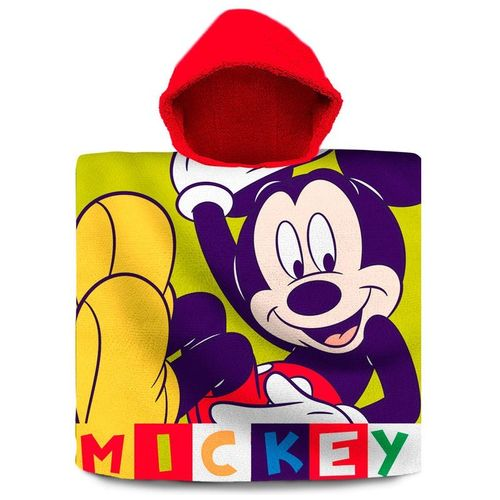poncho cotton mickey 60x120