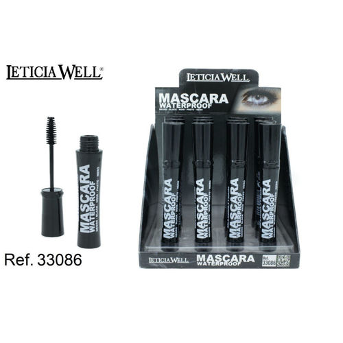 MASCARA WATERPROOF NOIR(0.55€' UNITE) PACK12 LETICIA WELL