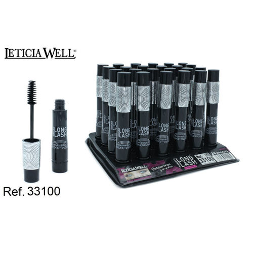 MASCARA NOIR WASHABLE (0.80€ UNITE) PACK 24 LETICIA WELL