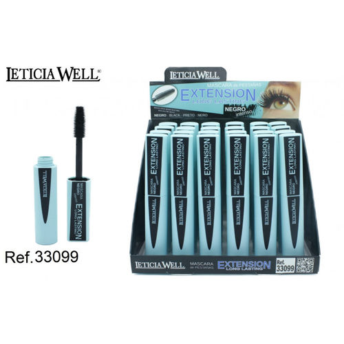 MASCARA EXTENSION (0.83€ UNITE) PACK 24 LETICIA WELL