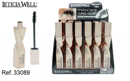 MASCARA CURVE&VOLUME NOIR (0.87€' UNITE) PACK 24 LETICIA WELL