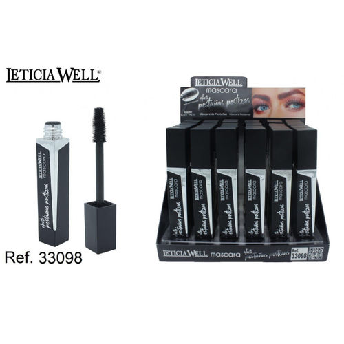 MASCARA NOIR (0.85€ UNITE) PACK 24 LETICIA WELL