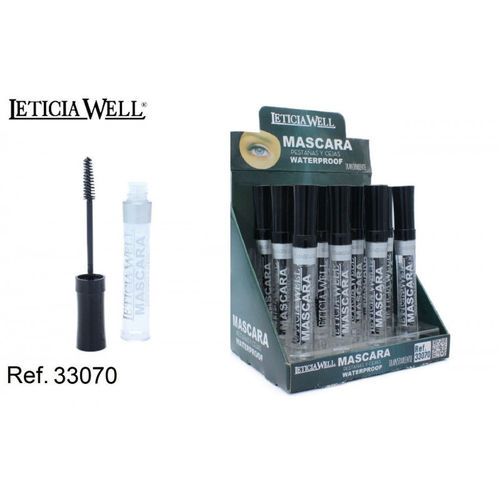 MASCARA TRANSPARENTE WATERPROOF (0.55€ UNITE)PACK 12 LETICIA WELL