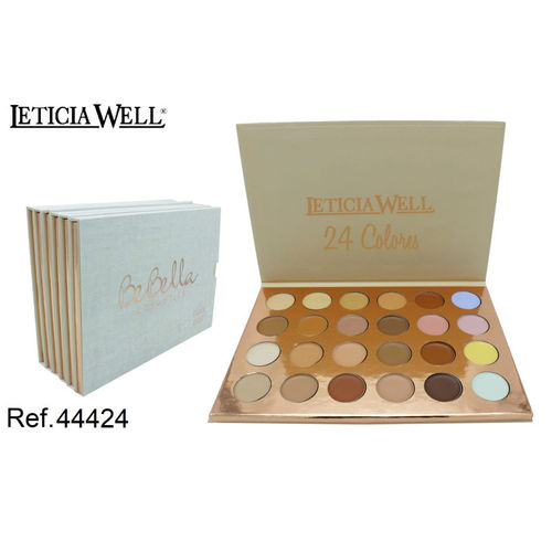 PALETTE DE MAQUILLAGE + CORRECTEUR (1,65€ UNITE) PACK 6 LETICIA WELL