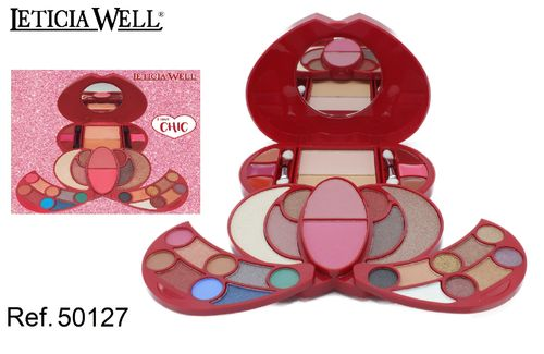 COFFRET DE MAQUILLAGE I LOVE CHIC LETICIA WELL