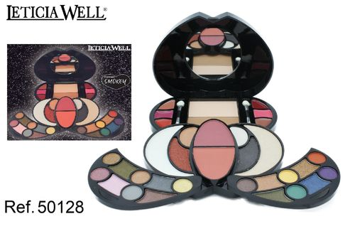 COFFRET DE MAQUILLAGE FOREVER SMOKEY LETICIA WELL