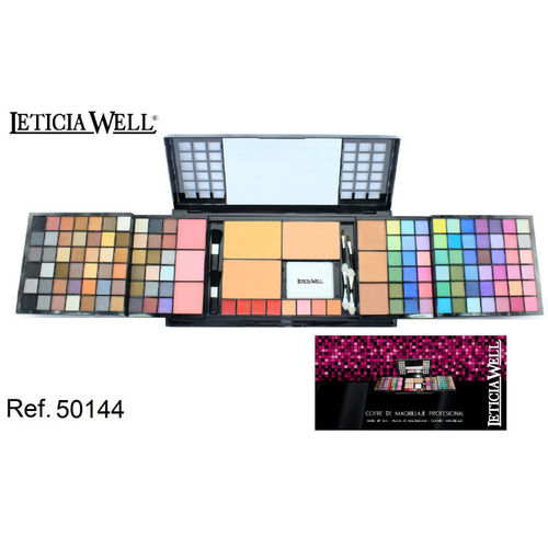 COFFRET DE MAQUILLAGE PROFESIONAL 183GR. LETICIA WELL