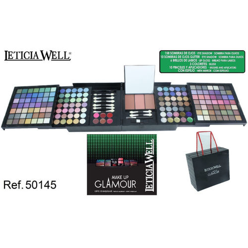 COFFRET DE MAQUILLAGE 187 PIECES LETICIA WELL