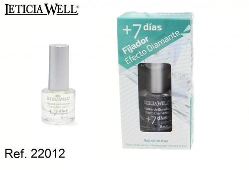 Fijador Efecto Diamante +7 JOURS ( 0,55€ UNITE) PACK 12 LETICIA WELL