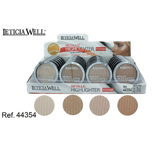 ILLUMINATEUR EFFEC METALLIC 4 COULEURS (0.73€ UNITE) PACK 24 LETICIA WELL