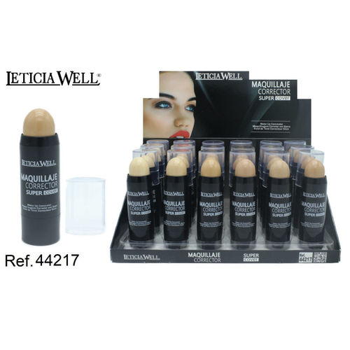 FOND DE TEINT CORRECTOUR STICK 6 COULEURS (0.85€ UNITE) PACK 24 LETICIA WELL