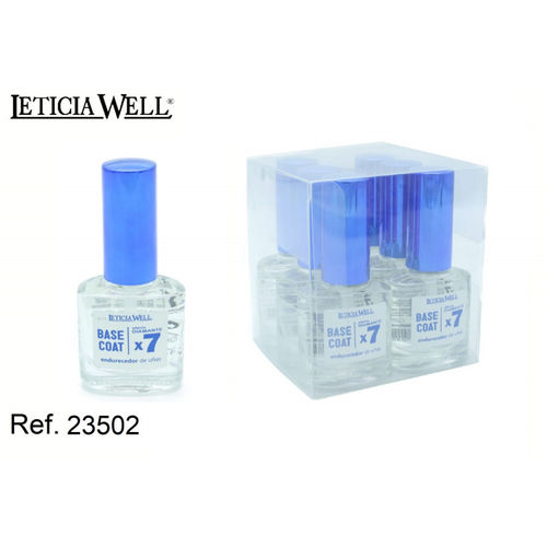 BASE COAT 7X EFFET DIAMANT (0.65€ UNITE) PACK 6 LETICIA WELL