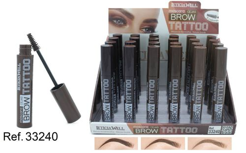 MASCARA TATTO .(0.60€ UNITE) PACK 24 LETICIA WELL