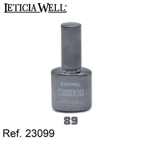 VERNIS À ONGLES EFECT MIRROR (1,25€ UNITE) PACK 6 LETICIA WELL