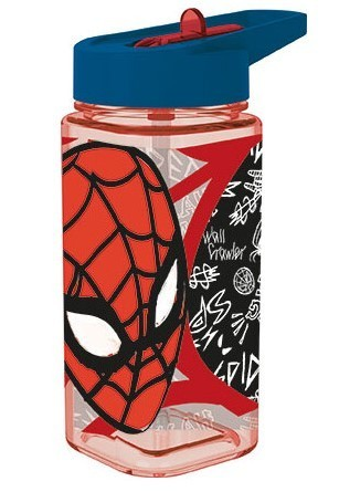 bouteille square Spiderman 530ml