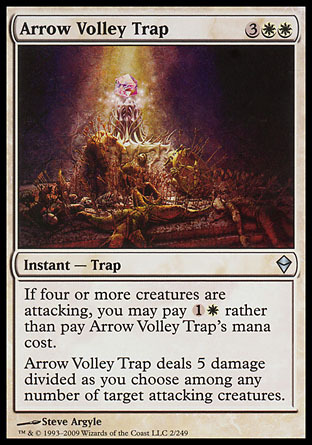 TRAMPA LLUVIA DE FLECHAS / ARROW VOLLEY TRAP (ZENDIKAR)
