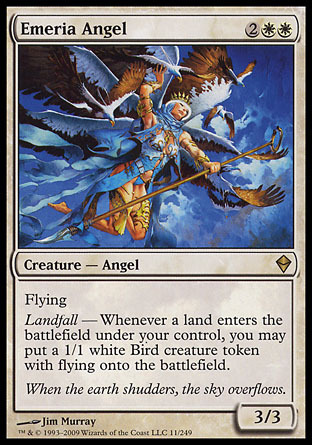 ANGEL DE EMERIA / EMERIA ANGEL (ZENDIKAR)