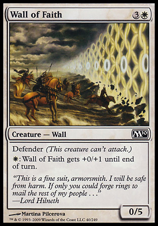 MURO DE FE / WALL OF FAITH (M10)