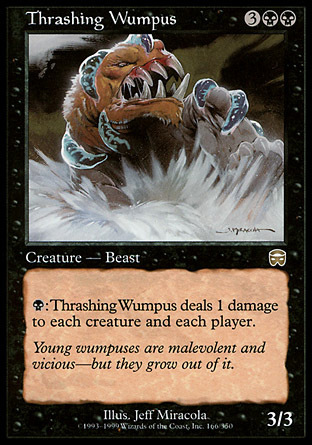 WUMPUS APLASTADOR / THRASHING WUMPUS (MASCARAS MERCADIA)