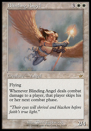 ANGEL CEGADOR / BLINDING ANGEL (NEMESIS)