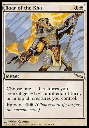 RUGIDO DEL KHA / ROAR OF THE KHA (MIRRODIN)