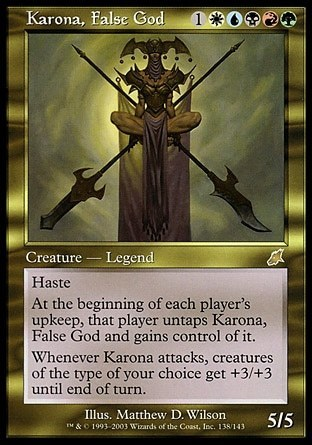 KARONA DIOSA FALSA / KARONA FALSE GOD (AZOTE)