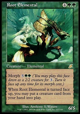 ELEMENTAL DE RAIZ / ROOT ELEMENTAL (AZOTE)