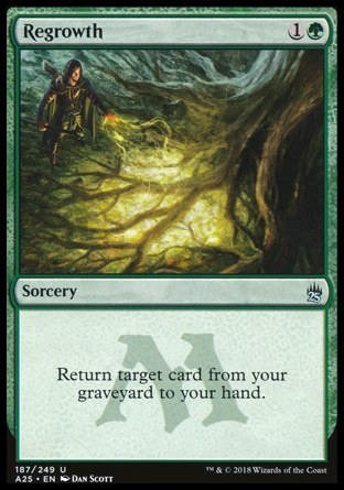 REGROWTH (MASTERS 25)