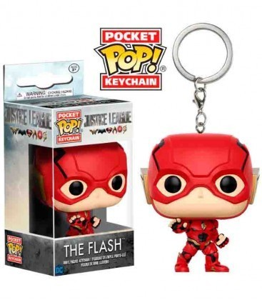 LLAVERO FUNKO POP! LIGA DE LA JUSTICIA - THE FLASH