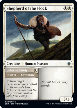 PASTOR DEL REBAÑO / SHEPHERD OF THE FLOCK (EL TRONO DE ELDRAINE)