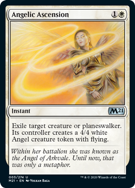 ASCENSION ANGELICAL / ANGELIC ASCENSION (M21)