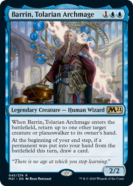 BARRIN ARCHIMAGO TOLARIANO / BARRIN TOLARIAN ARCHMAGE (M21)