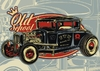 Poster OLD SCHOOL HOT ROD