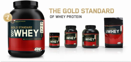 100% Whey Gold Standard 5lbs - Optimum Nutrition