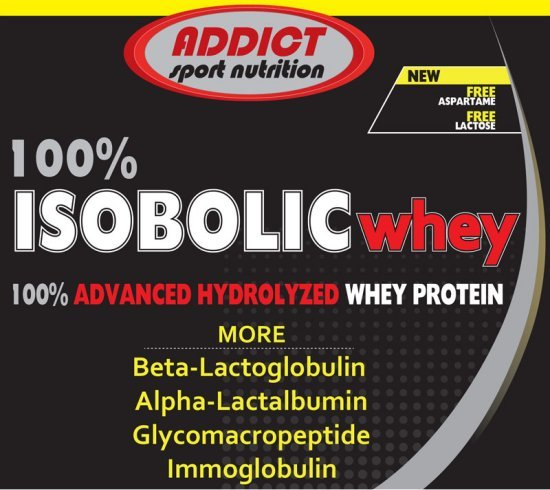 Isobolic Whey - Addict Sport Nutrition