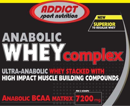 Anabolic Whey Complex - Addict Sport Nutrition