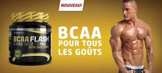 BCAA Flash 540g Biotech USA