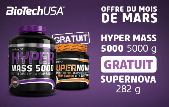 HYPER MASS 5000 5kg + SuperNova Biotech USA