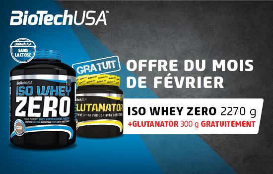 IsoWHey Zero + Glutanator Biotech USA