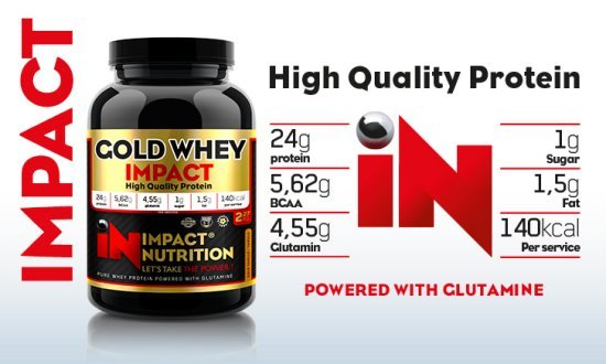 Impact Nutrition - Whey Gold 5lbs