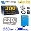 Kit solaire 300Wc sortie 230V 900W VICTRON