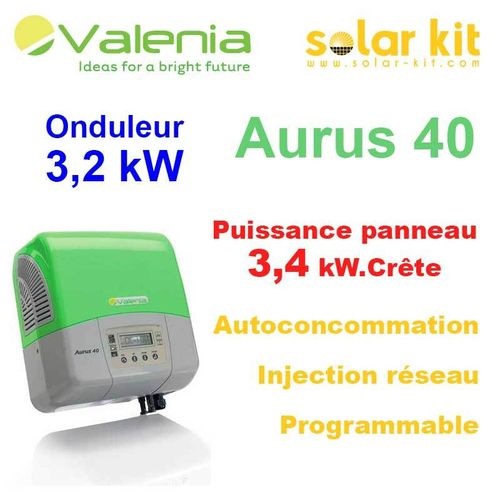 Photovoltaic inverter with transformer Aurus 40 3400Wp for self consumption