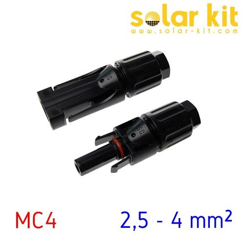 MC4 connectors 2,5 - 4 mm²