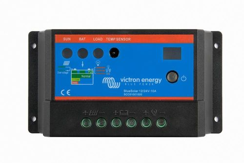 Régulateur de charge 10A 12-24V Blue Solar Victron Energy it