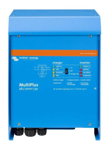 Convertisseur chargeur 3000VA 48V 35-50A Multiplus Victron Energy it