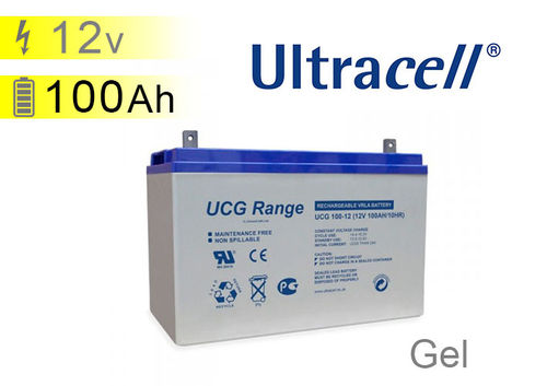 Batterie solaire GEL 12v 100Ah Ultracell UC