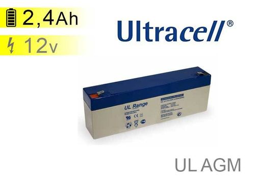 Batterie solaire Ultracell UL AGM 12V 2,4Ah