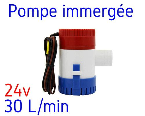 Water pump 24V - 30 liters per min
