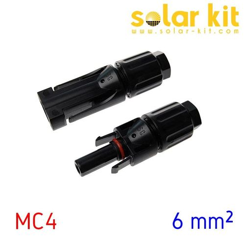 MC4 connectors 6 mm²
