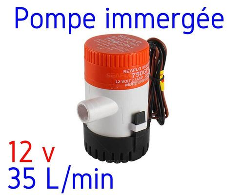 Water pump 12V - 35 liters per min